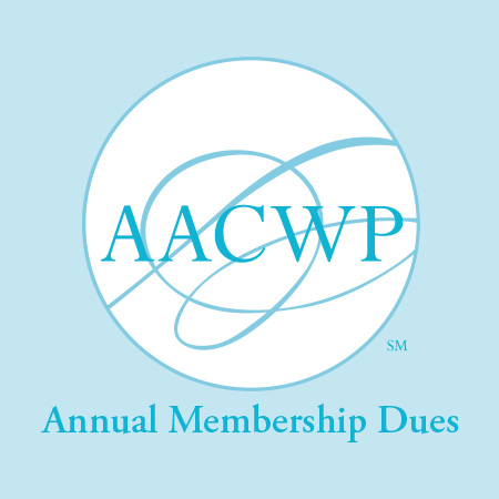 AACWP Annual Membership Dues AACWP American Association of