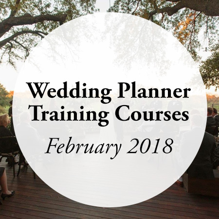 Wedding Planner Training Courses February 2018 AACWP American